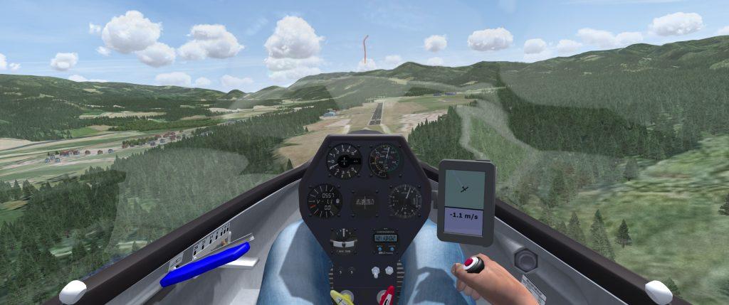 Approaching a runway in Condor 2